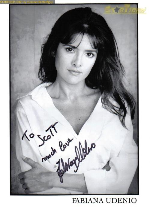 Fabiana Udenio Autograph Collection Entry At Startiger
