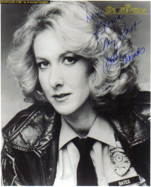 Betty Thomas autograph collection entry at StarTiger
