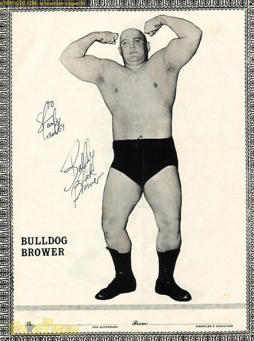 dick the bulldog brower dick the bulldog brower autograph collection entry at 3356