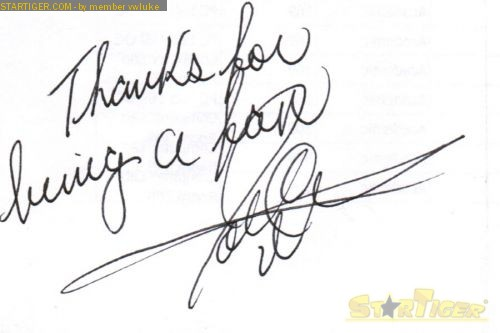 Joe C. Meriweather autograph collection entry at StarTiger