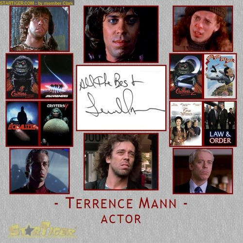 Terrence Mann Actor >> Terrence Mann Autograph Collection Entry At Startiger