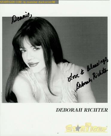 Deborah Richter autogr...
