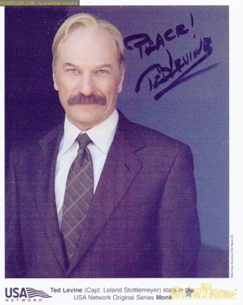 Ted Levine autograph collection entry at StarTiger